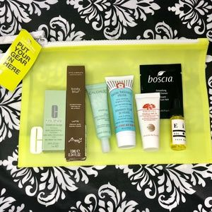 Clinique Makeup Bag and Bundle Set